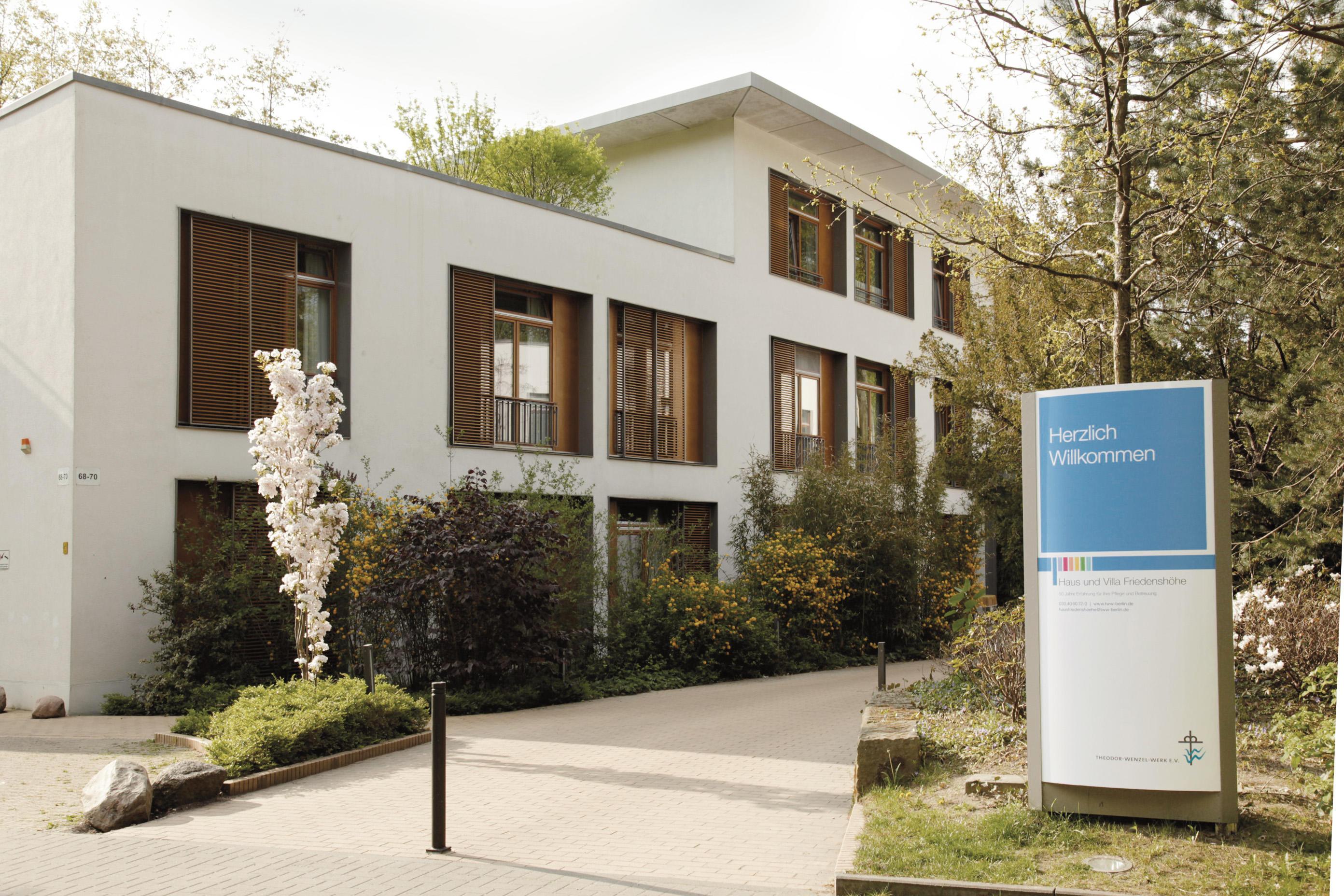 Haus Friedenshöhe, Ev. stat. Pflegeeinrichtung
