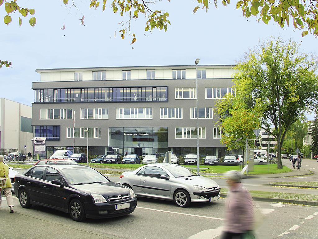 Pflegeinsel im Ärztezentrum Inge Baum
